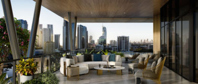 Allure, Chevron Island Building Lounge