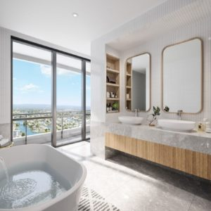 Infinity, Broadbeach Bathroom