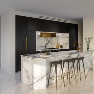 Infinity, Broadbeach Kitchen