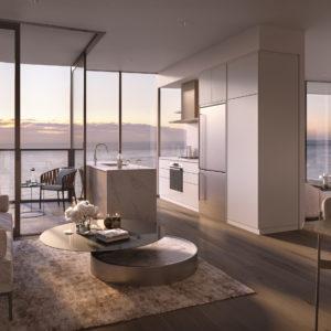 Internal Living Kitchen Of Type N Design
