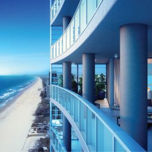 Northcliffe Residences, Surfers Paradise Balcony View