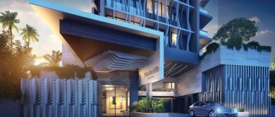 Northcliffe Residences, Surfers Paradise Terrace Entrance