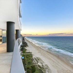 Northcliffe Residences, Surfers Paradise Balcony View North