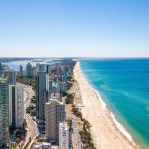 Ocean, Surfers Paradise View North High Floor