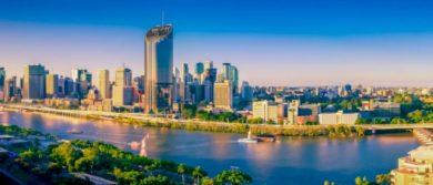 Brisbane Skyline Afternoon Spi 4baf