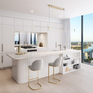 Midwater Type C Apartment Kitchen (dawn Scheme)