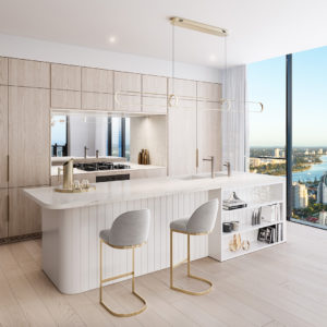 Midwater Type C Apartment Kitchen (dune Scheme)