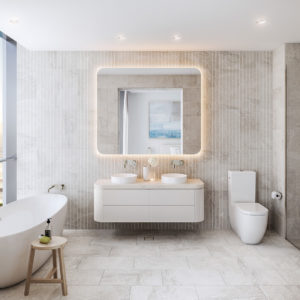 Midwater Type C Apartment Master Ensuite (dawn Scheme)