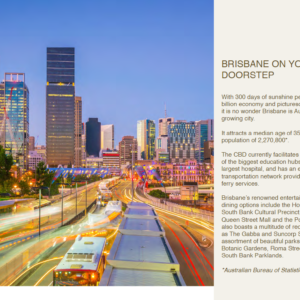 Brisbane On Your Doorstep